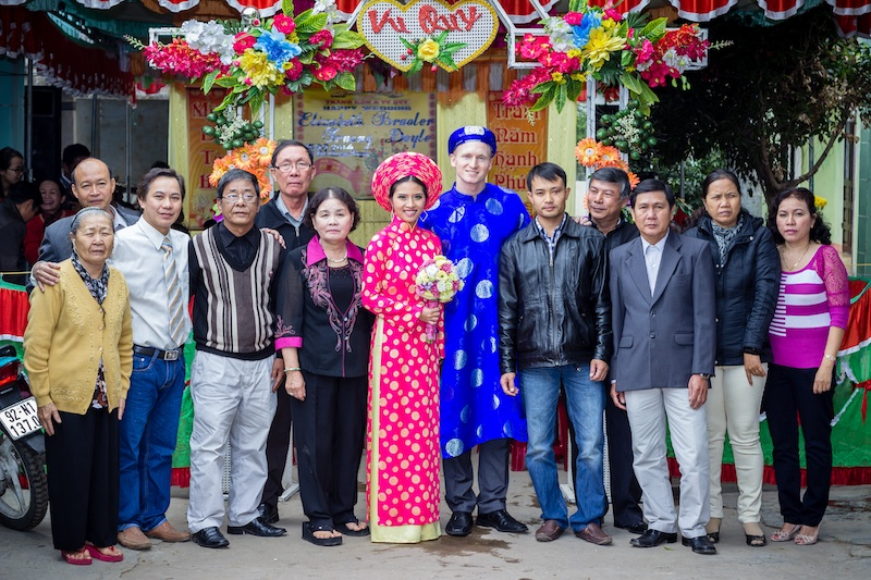Vietnam wedding in Nui Thanh